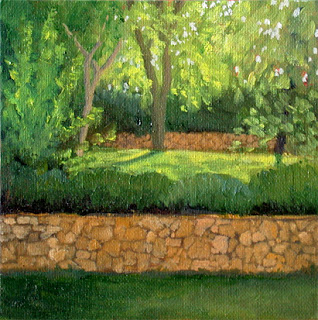 Garden Terraces by Liza Hirst