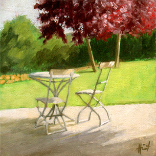 Table for two by Liza Hirst