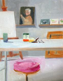 Studio Interior I by Liza Hirst