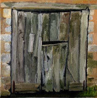 Portail de Grange by Liza Hirst