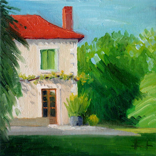 Red Roof by Liza Hirst