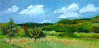 Siorac Valley by Liza Hirst