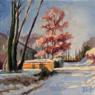 Winter Sun by Liza Hirst