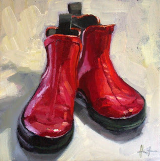 My Things, Rain Boots by Liza Hirst