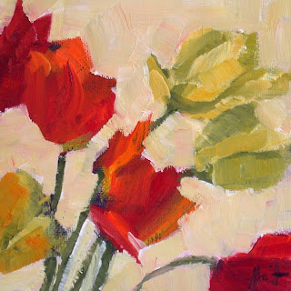 Tulips by Liza Hirst