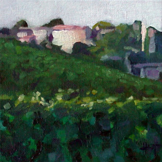 Near St. Emilion by Liza Hirst