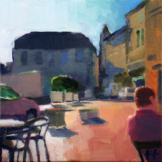 Morning in Perigueux by Liza Hirst