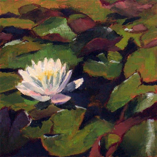 Waterlily by Liza Hirst