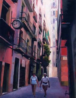 Barcelona Facades by Liza Hirst