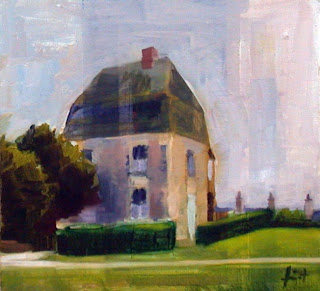Dependance du Chateau by Liza Hirst