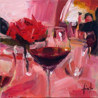 At the Restaurant II by Liza Hirst