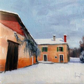 La Neige by Liza Hirst
