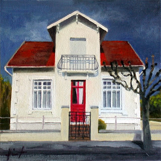 Little White House by Liza Hirst
