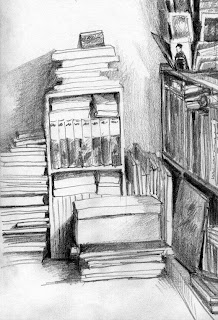 The Book Corner by Liza Hirst