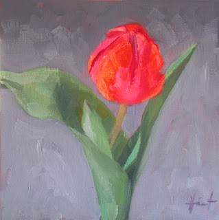 Study of Tulip II by Liza Hirst