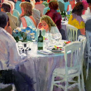 Wedding in France, detail II by Liza Hirst