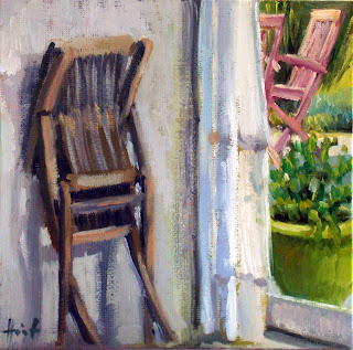 The Extra Chair by Liza Hirst