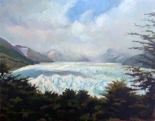 The Perito Moreno Glacier by Liza Hirst