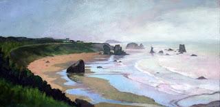 Oregon Coast by Liza Hirst