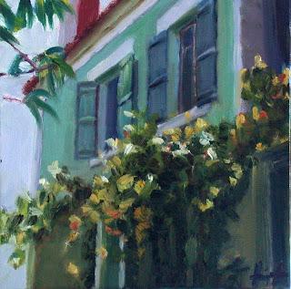 Sunlit Vine by Liza Hirst