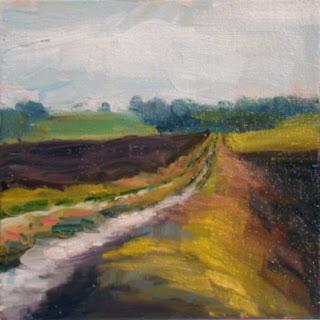 Farm Track by Liza Hirst