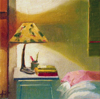 Night-Time Reading by Liza Hirst