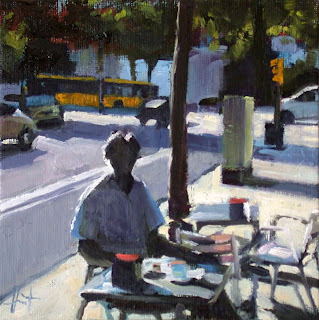 Breakfast in Barcelona by Liza Hirst