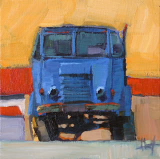 Camion Bleu by Liza Hirst