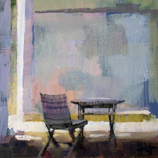 Sun on the Patio by Liza Hirst