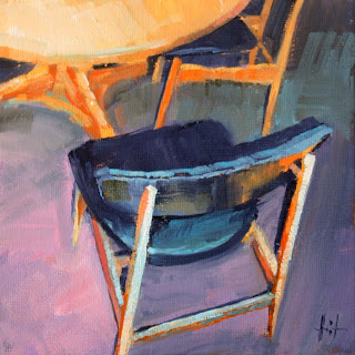 Chairs by Liza Hirst
