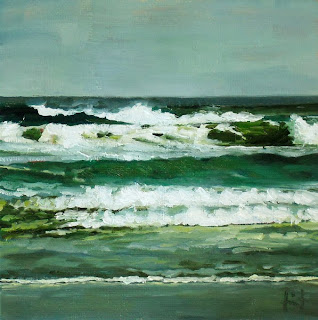 Rolling Waves by Liza Hirst