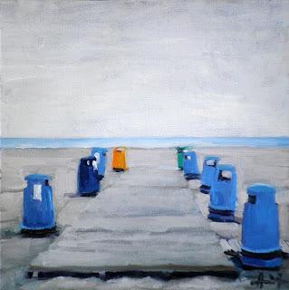 Clean Beach by Liza Hirst