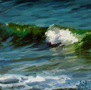 Racing Foam by Liza Hirst
