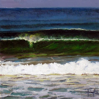 Breaking Wave by Liza Hirst