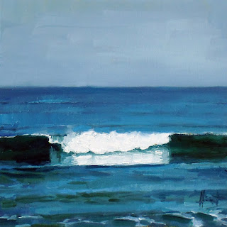 Reflecting Wave by Liza Hirst