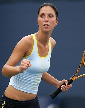 Anastasia Myskina Hot Tennis Player