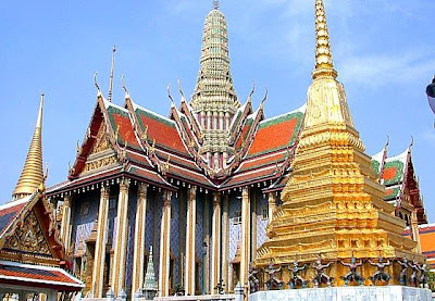 Bangkok - Most famous Bangkok Temple Picture