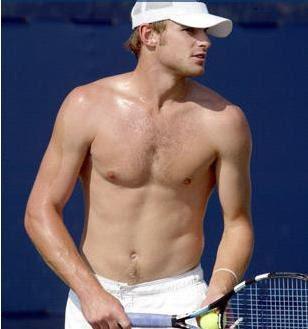 Andy Roddick Sexy Shirt Off - Hot Shirtless Body Pics