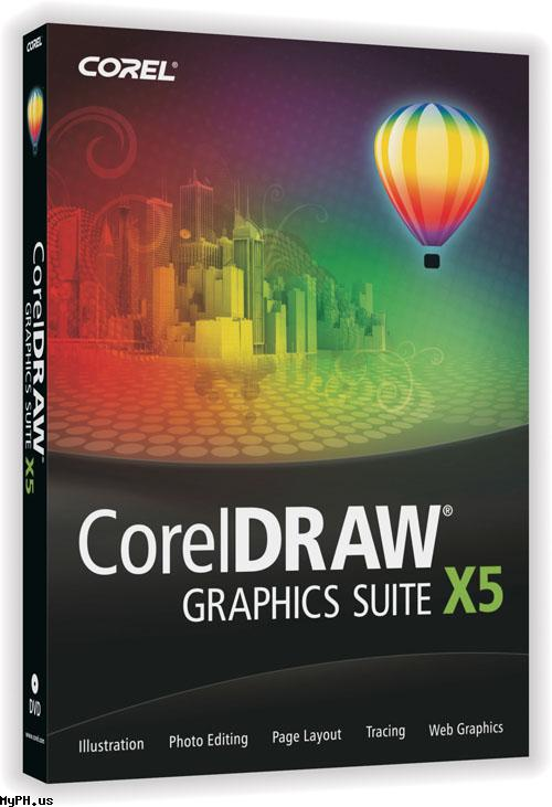 CorelDRAW Graphics Suite X5 v 15.0.0.488 - Канадская компания Corel
