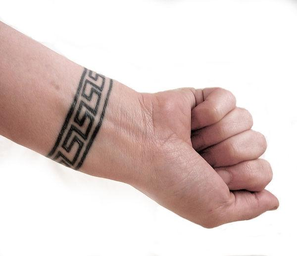Book of 6 removable Bracelet Tattoos. Perfect size for party favors!