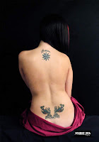 Specially Lower Back Tattoo Design