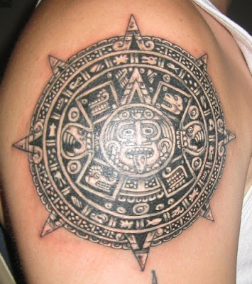 Most of the symbols that are taken from the Aztec tattoo designs symbolize
