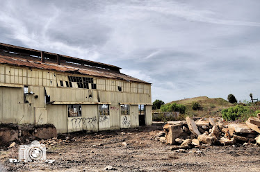 Abandoned warehouse on Signal Hill