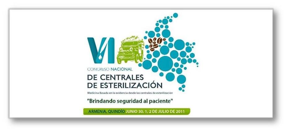 VI CONGRESO CENTRALES DE ESTERILIZACION COLOMBIA