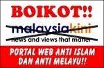 BOIKOT MALAYSIAKINI