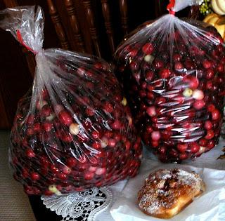 Cranberry Sauce Pound Cake