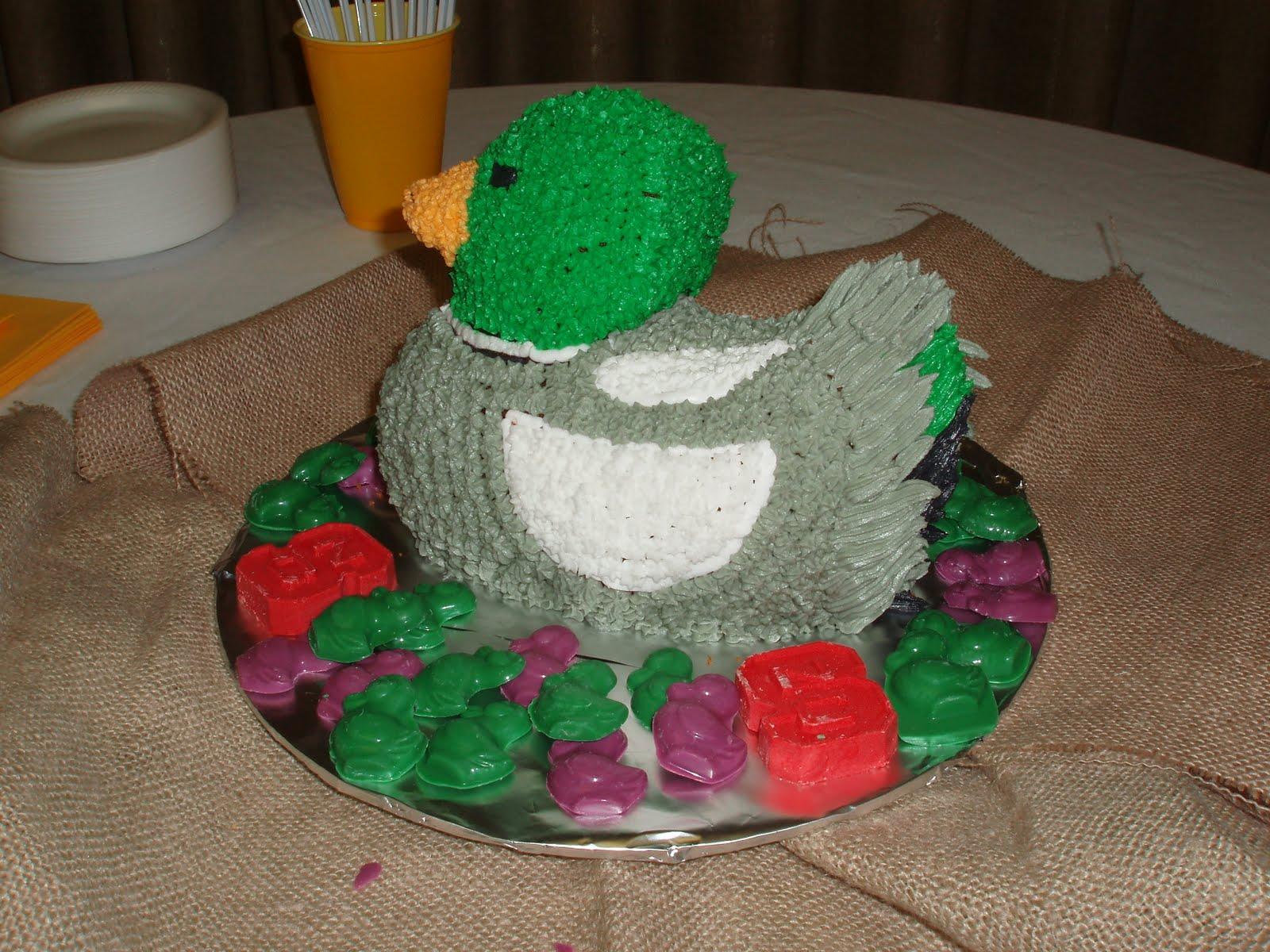 Custom Cake 4 You A Ducky Birthday