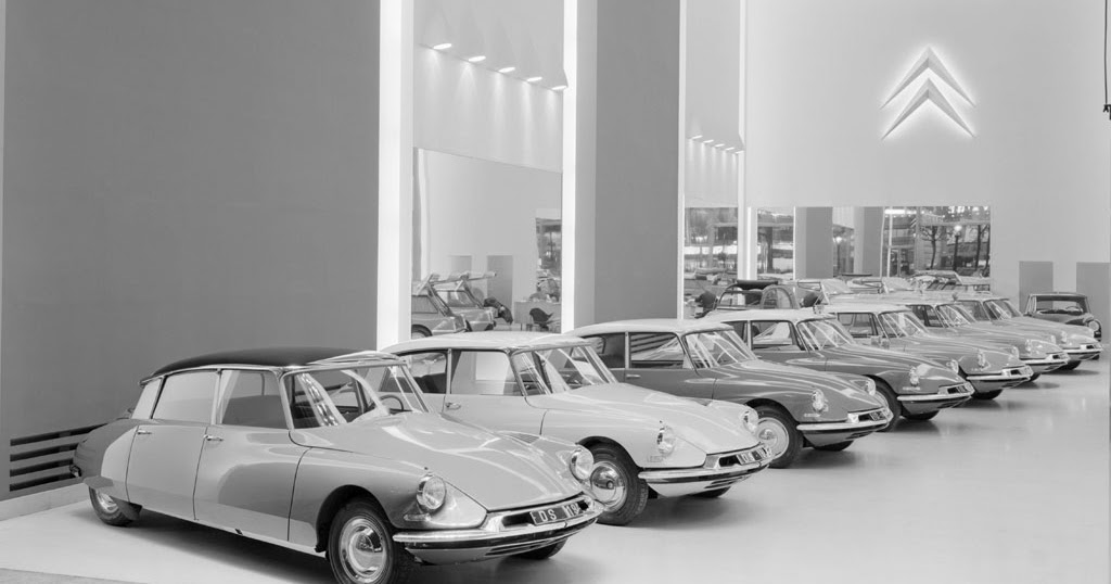 Citroën DS Classic Car Styling from France