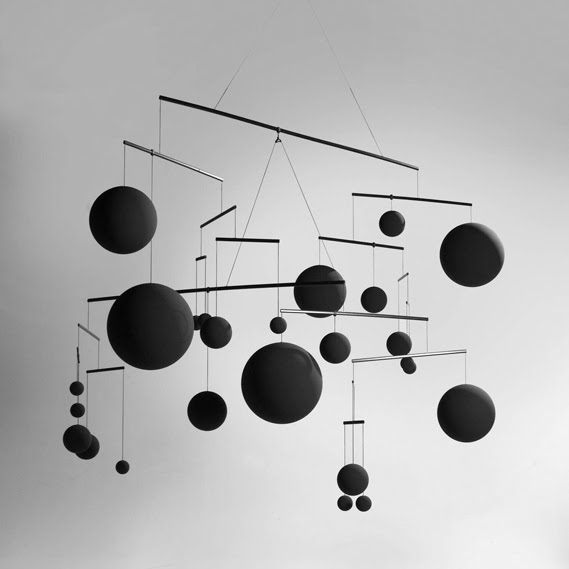 ceiling mobile by xavier veilhan modern design by