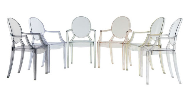 kartell louis ghost chair philippe starck modern design by
